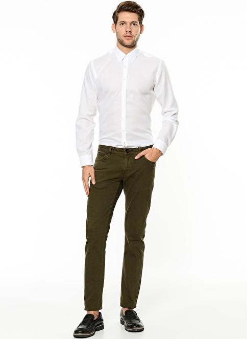 George Hogg Slim Fit Pantolon Haki